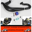Tuned Exhaust Pipe, 23-30cc Gas Engines: 5T